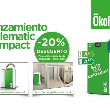 Promoción de lanzamiento de la caldera de pellets Pellematic Compact de OkoFEN